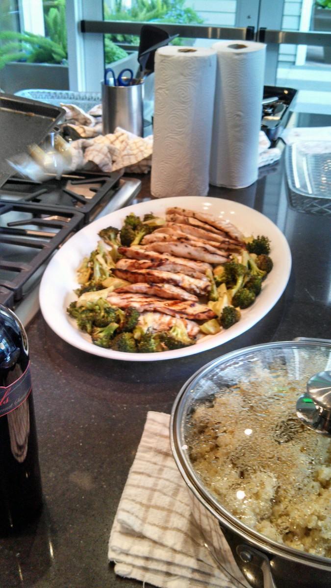 Grilled Chicken & Quinoa